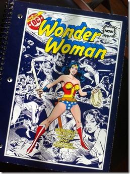 WonderWoman comic cover