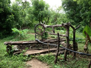 Old water well in Nicaragua