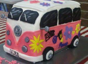 VW Bus Bday Cake